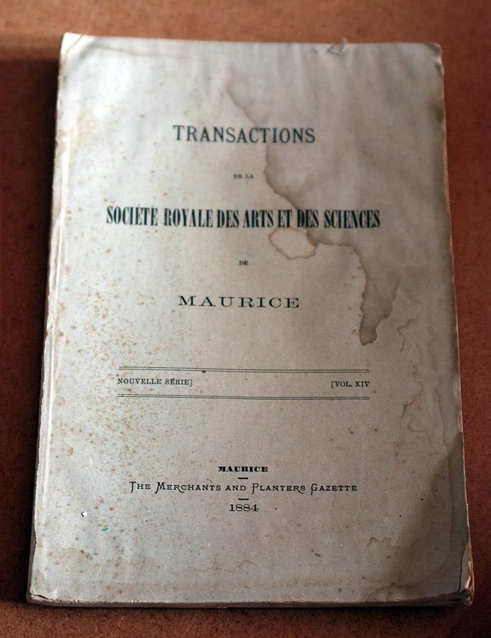 Transactions XIV 1884