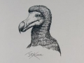 Lost Land of the Dodo original art